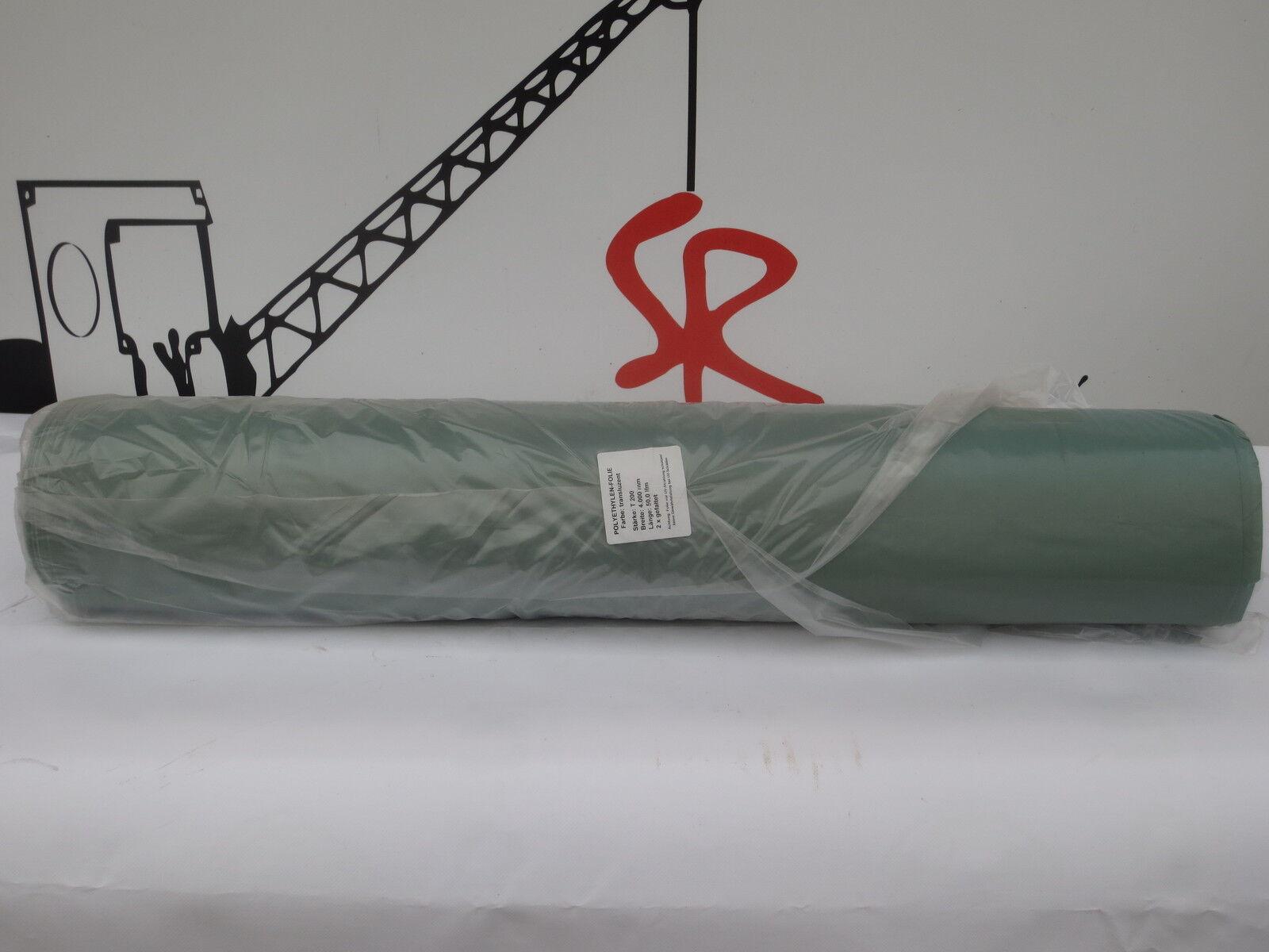Baufolie 4x50m (200m²)  transluzent Typ 200