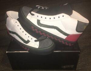 df197997cdda Vans Vault x Bodega Sub Rosa OG Mid Skool LX Sz 9 White Black Red ...