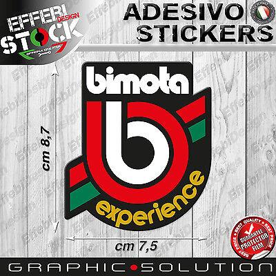 Adesivo Sticker BIMOTA EXPERIENCE YB 9 10 11 DB 4 5 6 7 8 DELIRIO SB 6 7 8 R BB3