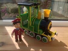 Postman Pat Toy Figure - Friction Greendale Rocket Train & Ajay - Series One