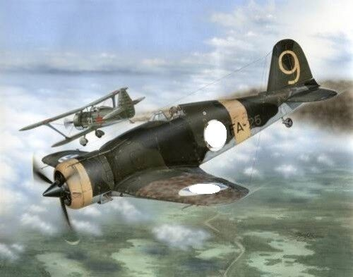 Special Hobby ® 32044 Fiat G.50-II Freccia Finnish Aces 1:32