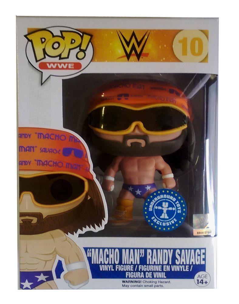 Funko POP    Randy Savage  Macho Man   7076 38920b
