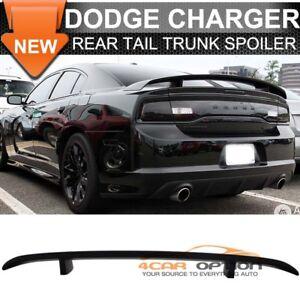 fits dodge charger 06 10 oe style rear trunk spoiler wing lid matte rh ebay com