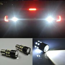 2x Error Free LED Reverse Back up Light project Bulb For VW Jetta MK6 2010-2014