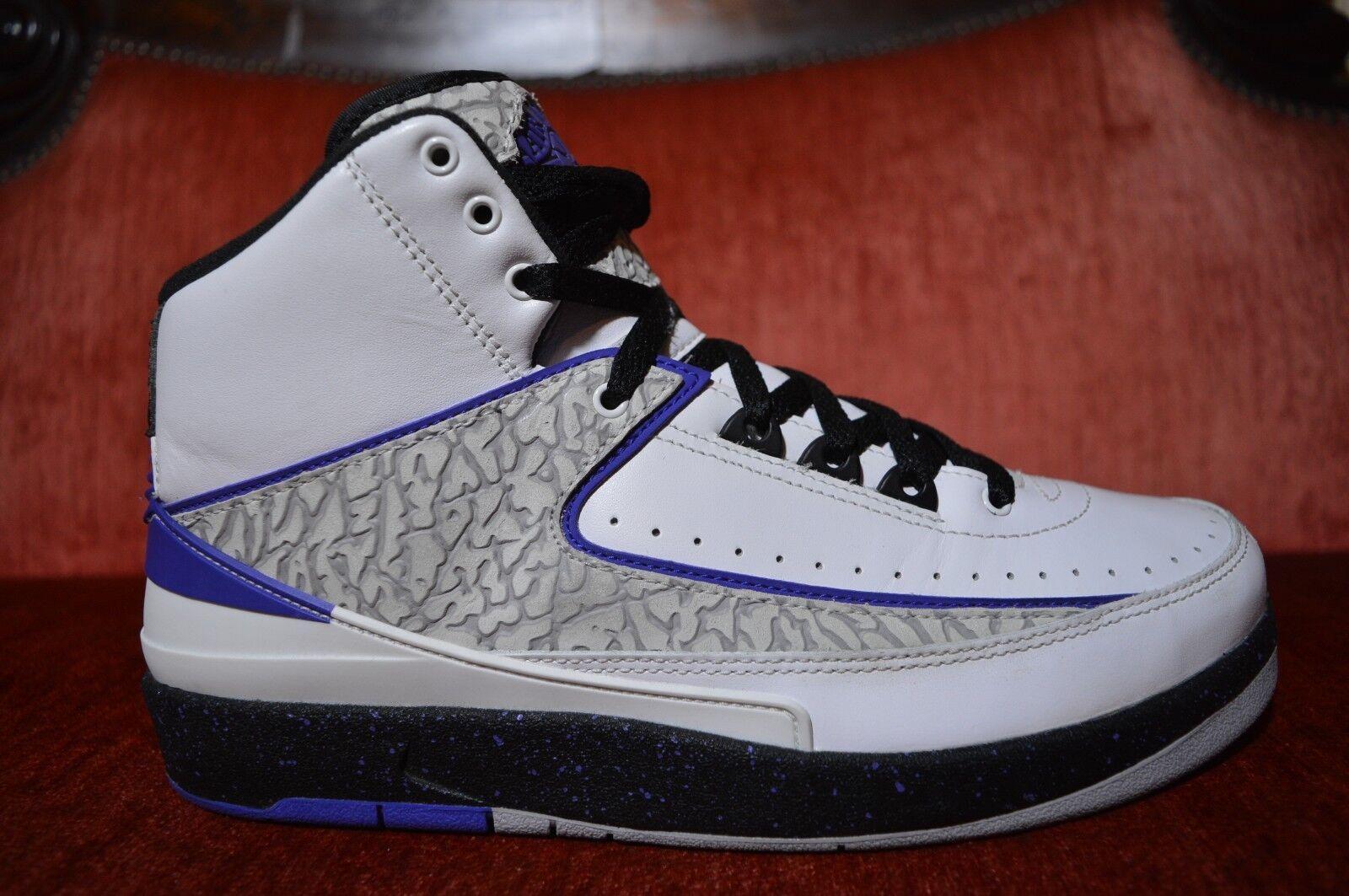 CLEAN Nike Air Jordan 2 II retro concord Pink White 385475-153 Size 8