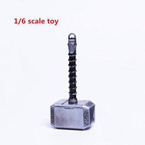 1-6-Skala-Thor-Hammer-Waffe-Requisiten-Modell-Fit-12-034-Action-Figur-Koerper