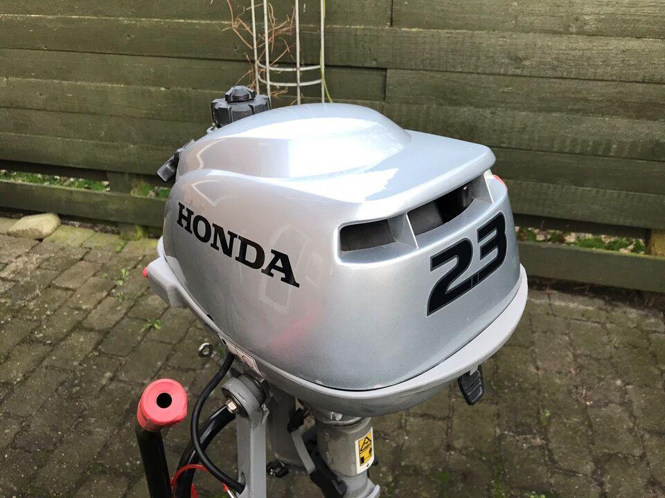 Honda påhængsmotor, 2 hk, benzin