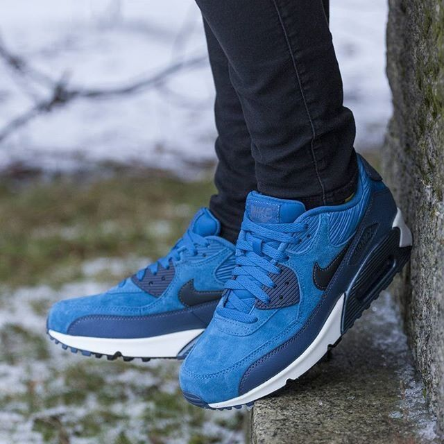 NIKE AIR MAX 90 LTHR WOMEN'S RUNNING SHOES 100% AUTHENTIC