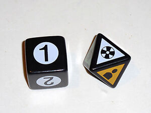 Harry-Potter-Scene-It-2nd-Edition-DVD-Game-Replacement-Die-1-6-Sided-amp-1-8-Sided
