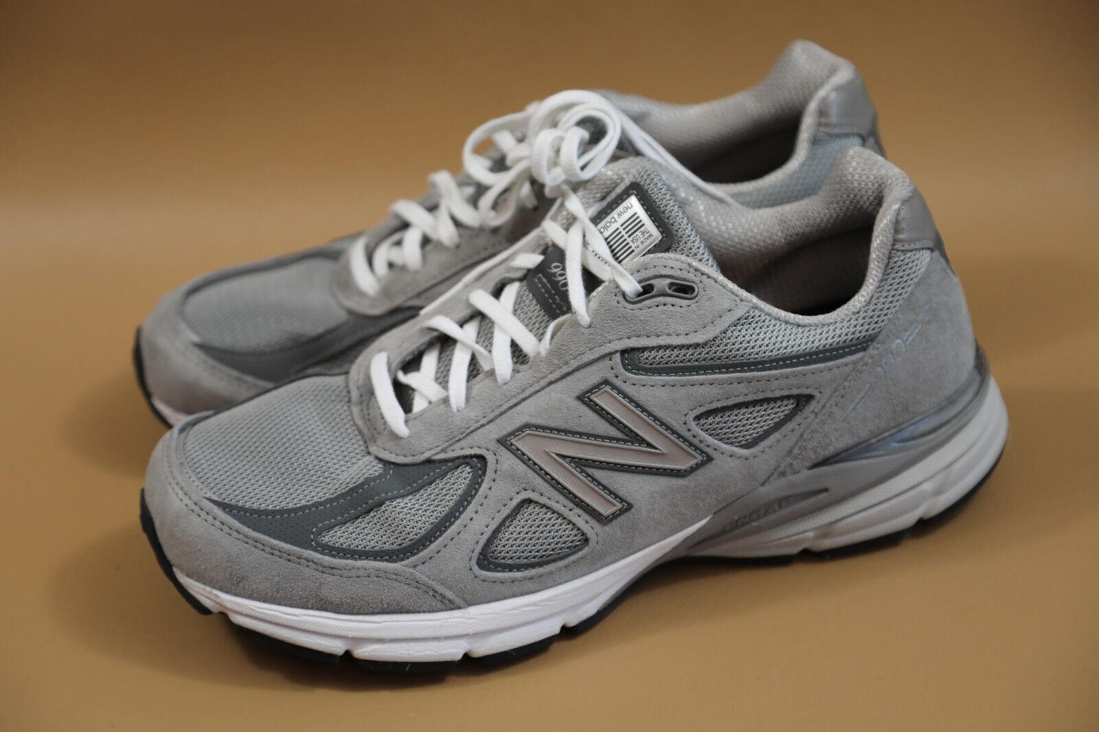 New Balance retail 990 Gray Men Sneakers Size 12 4E $175 retail Balance 1b0630