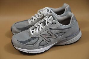 new concept 2d8ad 80e3d Details about #27 New Balance 990 Gray Men Sneakers Size 11 D $175 retail