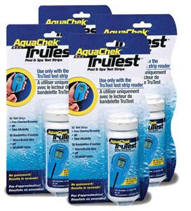 200 Strips AquaChek TruTest Test Strips Refill 50 Pack