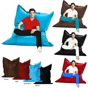 XXXL-Giant-Bean-Bag-Indoor-Outdoor-Beanbag-Beanbags-Waterproof-Cushion