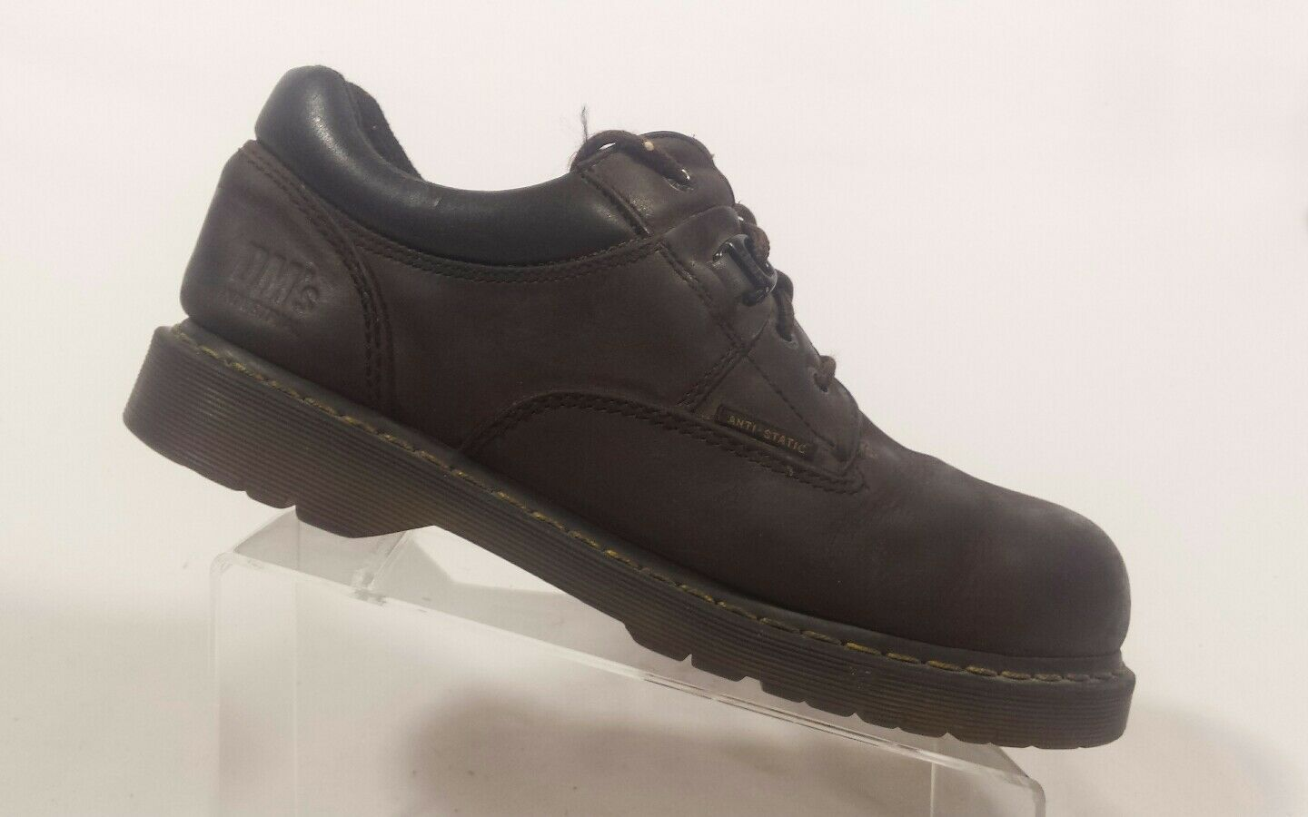 Dr Martens Safety Steel Toe Slip Resist Anti Static  Shoes Mens US 13M (Inv W2)