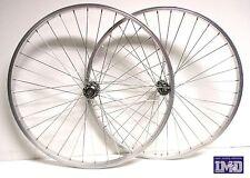 """Cerchi Ruote Bicicletta 26"""" bici MTB anteriore posteriore Mountain Bike filetto"""