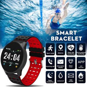 Waterproof-Sport-Smart-Watch-Blood-Pressure-Heart-Rate-Fitness-Tracker-Wristband