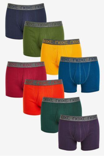Nuevo Hombres siguiente color rico a-frentes 100/% Puro Algodón ocho Paquete de tamaño mediano