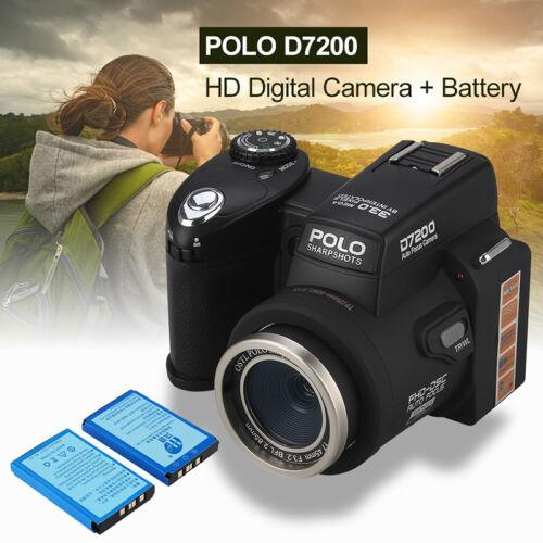 2PCS 8210 3.7V 1050mAh Li-ion Batería de gran capacidad para Cámara Digital POLO D7200