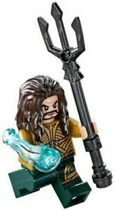 LEGO DC Super Heroes Aquaman Minifigure 76085 Mini Fig