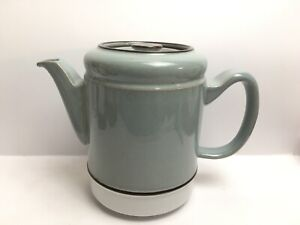 Vintage-Denby-Handcrafted-Fine-Stoneware-Teapot-Coffee-Pot-Hot-Water