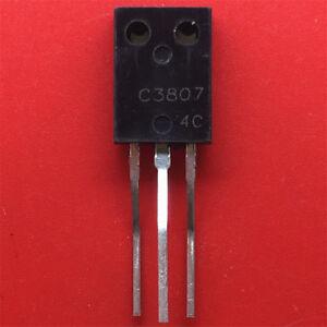 10PCS-Power-tri-transistor-2SC3807-NPN-silicon-tube-TO-126-NEW