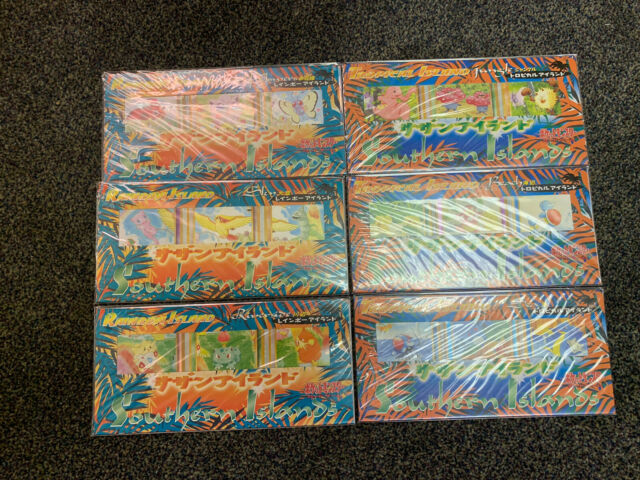 Pokemon Card Southern Island Tropical and Rainbow Complete set