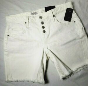 Size 4 Button-fly Boyfriend Shorts Mossimo NEW