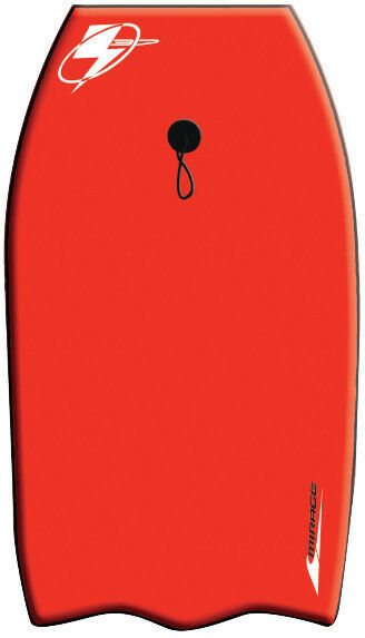 Bodyboard MIRAGE 37' Charger RED Body Board BRAND NEW  - FREE POSTAGE