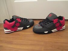 BNIB Size 11.5 DC Shoes Command Skate Shoes Gray Red White Black