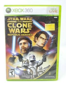 Star-Wars-The-Clone-Wars-Republic-Heroes-Microsoft-Xbox-360-X360-Game