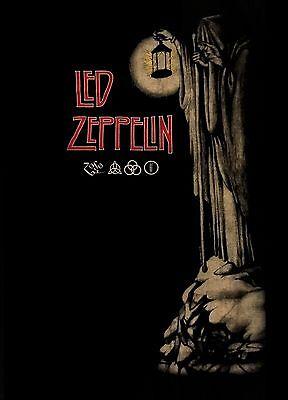 LED ZEPPELIN cd lgo IV STAIRWAY TO HEAVEN Official SHIRT MED New
