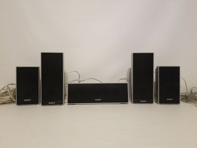 SONY Home Theater Surround Sound 5 SPEAKER System SS-TS71 SS-TS72 SS-CT71