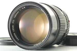 EXC-5-Canon-New-FD-nFD-135mm-f2-8-MF-Lens-aus-Japan-von-FedEx