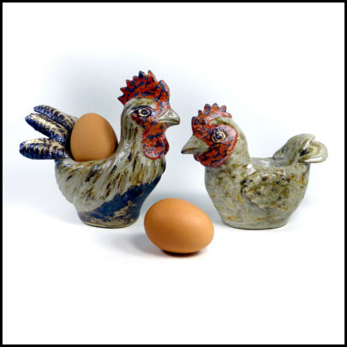 Quail Novelty Egg Cup Ideal Easter Gift by Tracy Wright from Zoo Ceramics