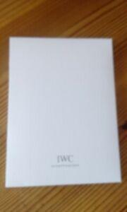IWC-Schaffhausen-Verpackung-fuer-Mikrofaser-Reinigungstuch-leer