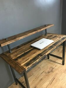 hot sales f317b b2e0a Details about RECLAIMED WOOD PC / WRITING DESK / DRESSING TABLE