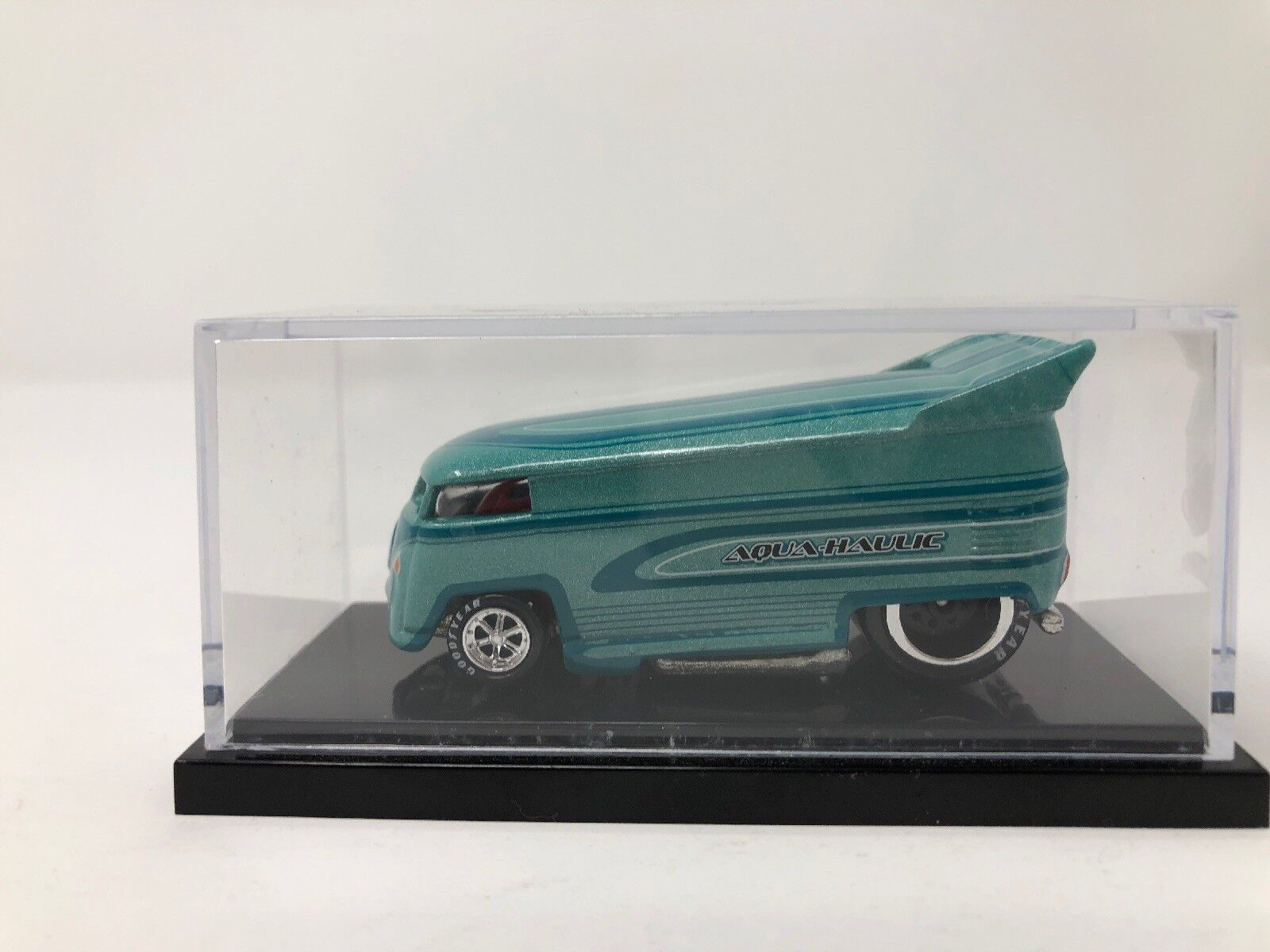 Hot Wheels Liberty Promotions Aqua Haulie VW Drag Bus 491 1300