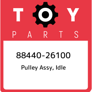 88440-26100-Toyota-Pulley-assy-idle-8844026100-New-Genuine-OEM-Part