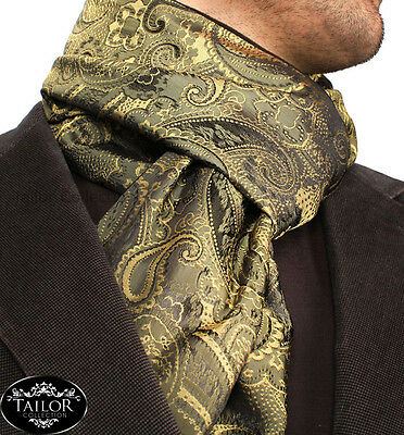 Brand New Mens Smart Cashmere Silk Italian 100% Soft Warm Scarf Christmas Formal
