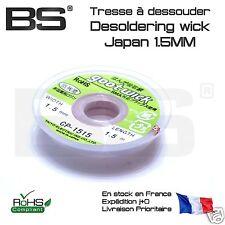 Tresse à dessouder desoldering wick 1.5MM goot wick Japan 1.5 mm Pi STM32