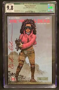 Walking Dead #171 CGC 9.8 Signed By Stefano Gaudiano 1st App Princess WITH C.O.A