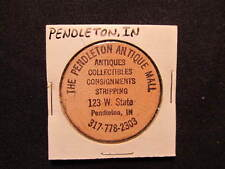 Pendleton, Indiana Wooden Nickel token - The Pendleton Antique Mall Wooden Coin