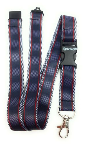 Lanyard Neck Strap for id Badge holder with metal clip SpiriuS original