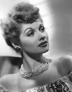 I Love Lucy Grapes Lucille Ball Vintage 8X10 BW TV