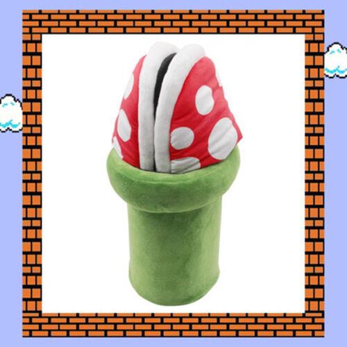 Super Mario Bros Piranha Plant Packun flower Plush Slipper Warm Shoes Cosplay