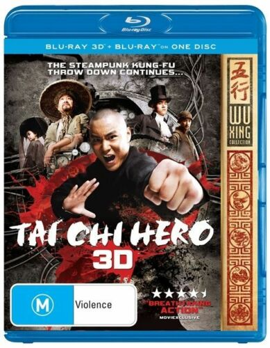 1 of 1 - Tai Chi Hero (Blu-ray, 2013)DISC ONLY - WITH SLEEVE