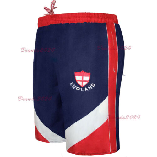MEN/'S ENGLAND WORLD CUP SHORTS FOOTBALL RUGBY GYM RUNNING SWIMMING SUPORT  S-XL