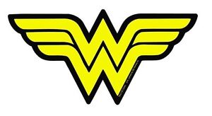 Wonder-Woman-Sticker-6-00-034-Classic-DC-Comics-Logo-Officially-Licensed-NEW