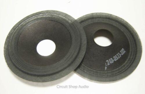 """Pair 4.5/"""" Paper Cones 240-0503-002 Speaker Parts"""
