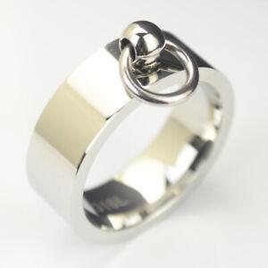 Details zu Ring der O Edelstahl 8 mm breit Farbe silber Story of O er511si